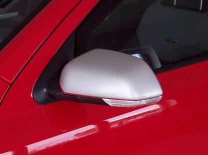 Kryty zrcátek Milotec – ABS stříbrný matný, Škoda Octavia II