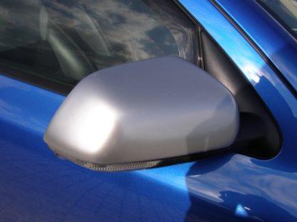 Kryty zrcátek Milotec – ABS design matný chrom, Škoda Octavi