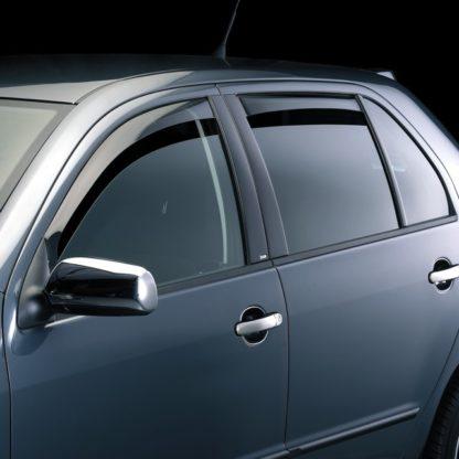 Ofuky oken (deflektory) – zadní, Fabia I. Limousine 2000-2007