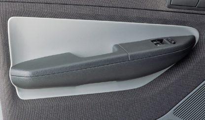 Dekor výplně dveří, ABS-stříbrný, Škoda Fabia