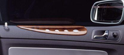 Dekor výplně dveří – horní malý, ABS-dřevěný, Škoda Fabia