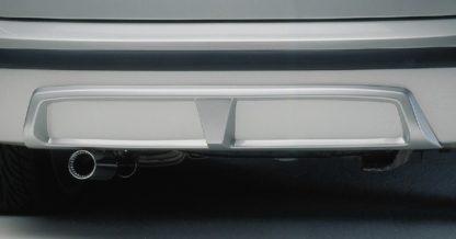 Difusor zadního nárazníku – černý, Fabia I. Combi/Sedan 2000-2007