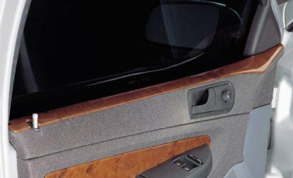 Dekor výplně dveří – horní, ABS-dřevěný, Škoda Fabia Lim./Se
