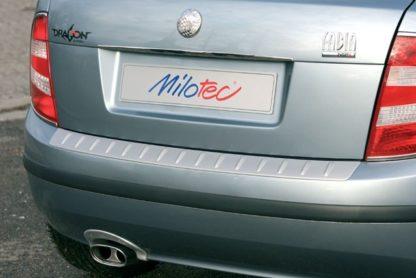 Práh pátých dveří s výstupky, ABS-stříbrný, Škoda Fabia Limo