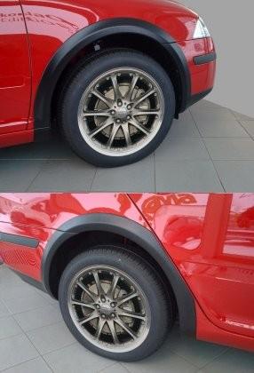 Lemy blatníků – černý desén – sedan/combi