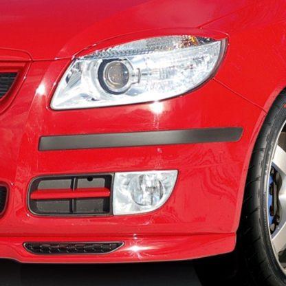 Ochranné lišty předního a zadního nárazníku, Fabia II. Limousine 2007-2010 / Fabia II. Limousine Facelift 2010-2014