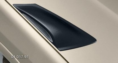 Výdechy kapoty – černý desén, Škoda Octavia