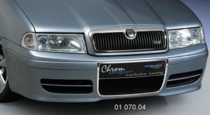 Rámeček chladice Chrom Skoda Octavia 1 RS