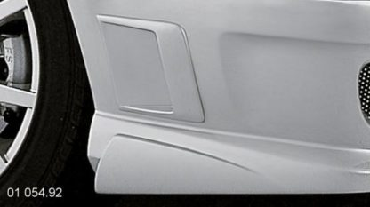 Boční výdech nárazníku – pro lak, Škoda Octavia