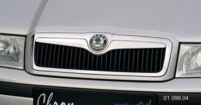 Lišta masky Škoda Octavia- chrom