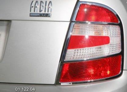 Rámeček zadních světel – chrom r.v. od 9/2004