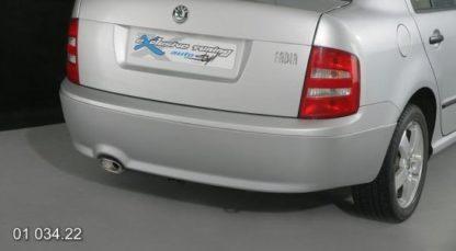 Spoiler pod zad. nárazník Škoda Fabia sedan/combi