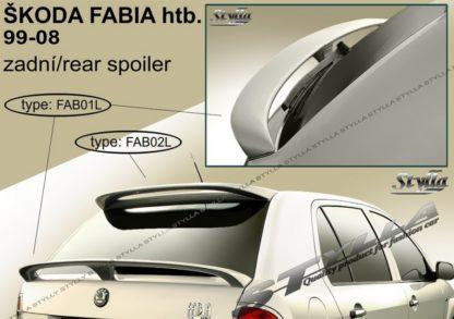 Škoda Fabia 1 spoiler zad. dveří spodní