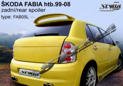 Škoda Fabia 1spoiler zad. dveří horní