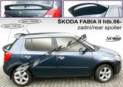 FABIA II htb spoiler zad. dveří horní