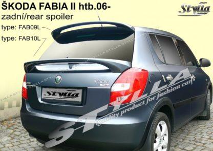 Škoda Fabia 2 spoiler zad. dveří spodní