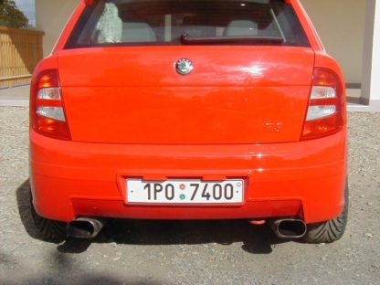 Škoda Fabia 1 Zákryt 5.dveří abs plast