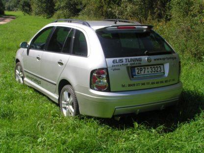Překryt zadního nárazníku Škoda Fabia sedan a combi