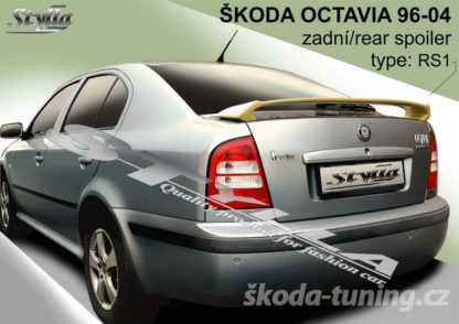 Spoiler Škoda Octavia RS style