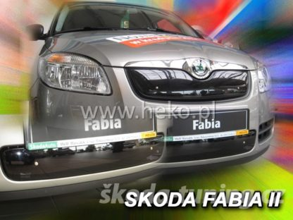 Zimní clona Škoda Fabia 2