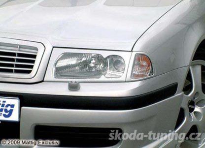 Kryty předníc světel a blikačů Skoda Octavia1