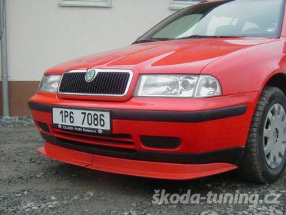 Spoiler pod originální nárazník Škoda Octavia1
