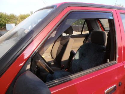 Větrné clony (ofuky) – přední, Škoda Felicia Limousine/Combi