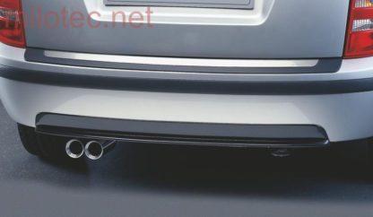 Difusor zadního nárazníku – karbon design, Fabia I. Combi/Sedan 2000-2007