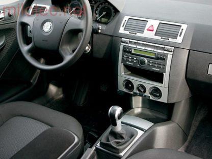Dekor středového panelu – bez zásuvky, Fabia I. Lim./Combi/Sedan 2000-2007