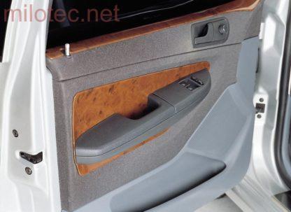 Dekor výplně dveří, ABS – imitace kořenového dřeva, Fabia I. Lim./Combi/Sedan 2000-2007