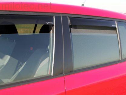 Větrné clony (ofuky) – zadní, Škoda Fabia II. Limousine