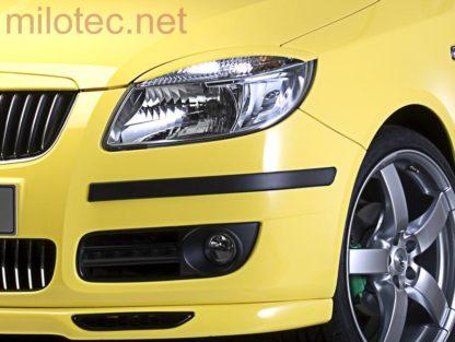 Ochranné lišty předního a zadního nárazníku, Fabia II. Combi 2008-2010 / Fabia II. Combi Facelift 2010-2014