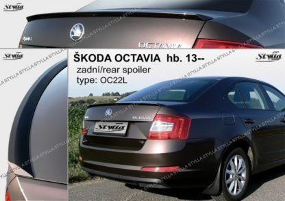 Lišta kufru Škoda Octavia 3 od rv 2013