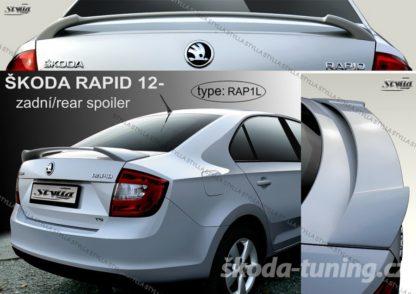 Zadní křídlo Škoda Rapid od 2012