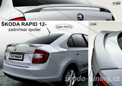 Zadní křídlo Škoda Rapid od rv 2012