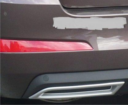Atrapa výfuku – ABS-stříbrný matný, Škoda Octavia III./ Facelift, r.v.2013/2017