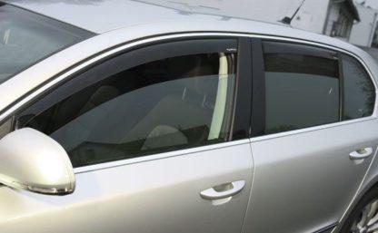 Ofuky oken (deflektory) – přední, Superb II. Lim. 2008-2015 / Superb II. Combi 2010-2015
