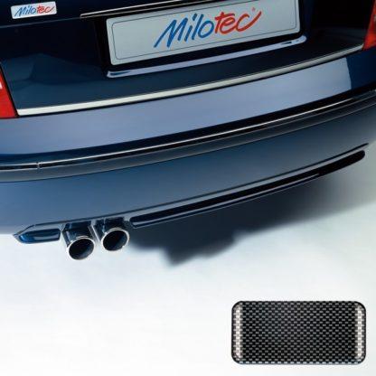 Difuzor s dvojitou koncovkou výfuku – ABS karbon