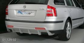 Difuzor zadního nárazníku – Škoda Octavia 2 combi