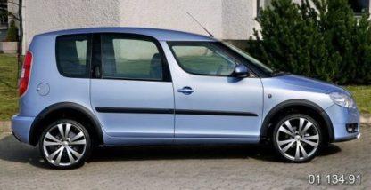 Lemy blatníků Škoda Roomster- černý desén