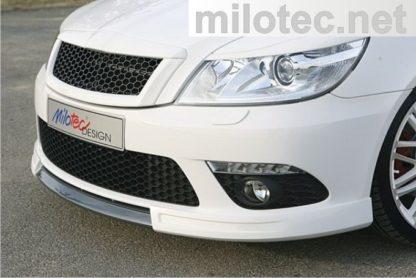 Spoiler Milotec – pro přední nárazník, Škoda Octavia II. RS