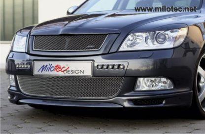 Spoiler Milotec-pro přední nárazník, Škoda Octavia II. Facelift