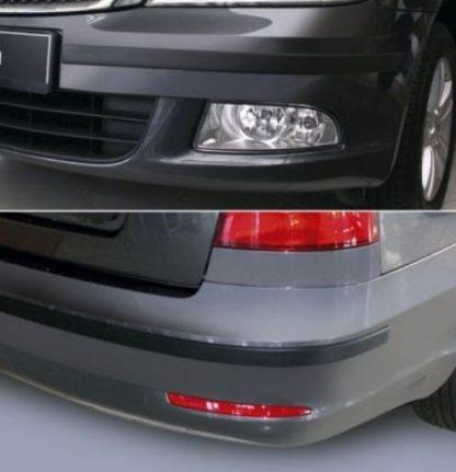 Ochranné lišty předního a zadního nárazníku, Škoda Octavia II