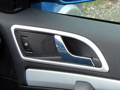 Rámečky klik – matný, stříbrný ABS