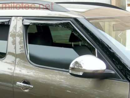 Ofuky oken (deflektory) – přední, Yeti 2009-2013 / Yeti Facelift od.r.v. 2013