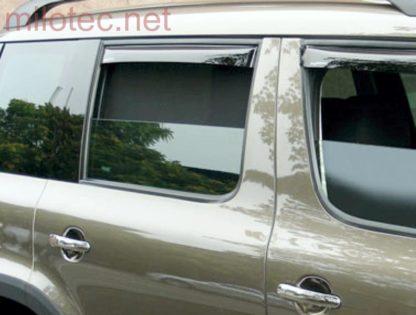 Ofuky oken (deflektory) – zadní, Yeti 2009-2013 / Yeti Facelift od.r.v. 2013
