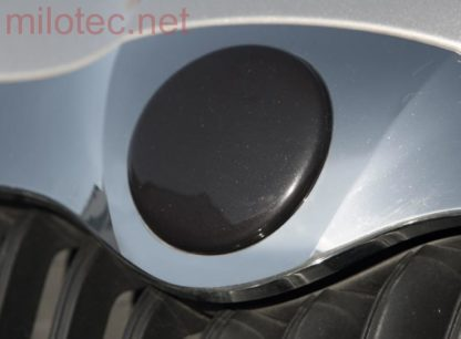 Kryt emblému – přední, černá metalíza, Citigo od r.v. 2012