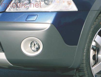 Rámečky mlhových světel – ABS stříbrný