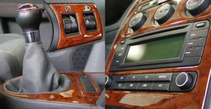 Dekor středového panelu – design kořenové dřevo, Superb I. 2002-2008