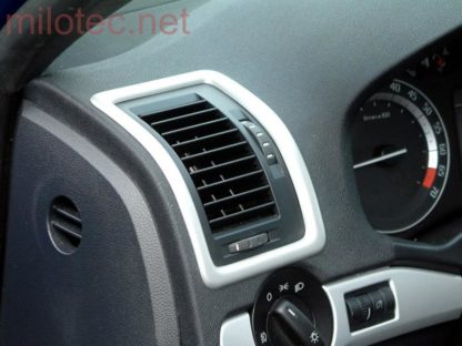 Dekory interiéru – rámečky ventilace, Škoda Octavia II. 2004-2012